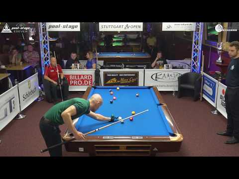 Stuttgart Open 2017, No. 24, Roman Hybler vs. Valery Kuloyants, 10-Ball, Pool-Billard