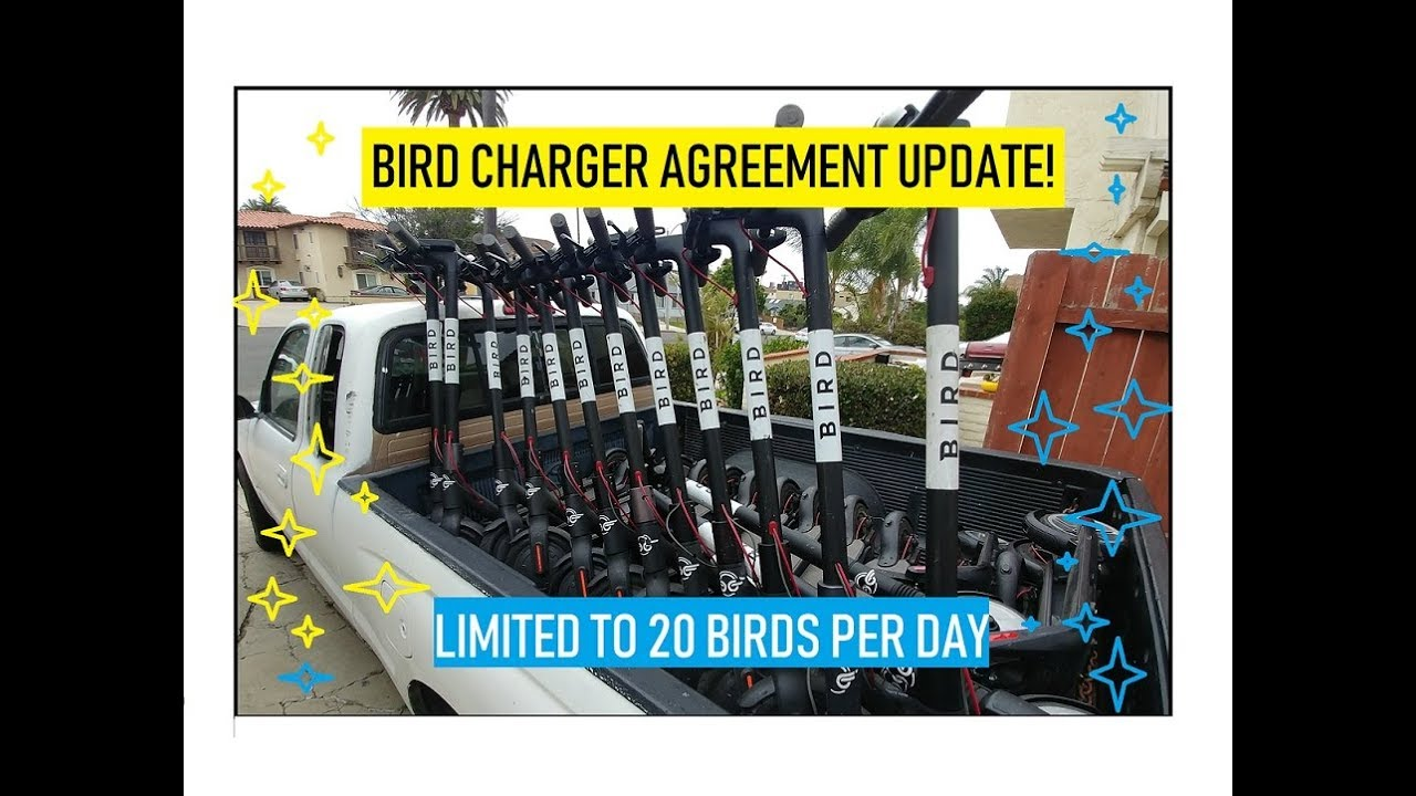 Bird Charger Agreement Update