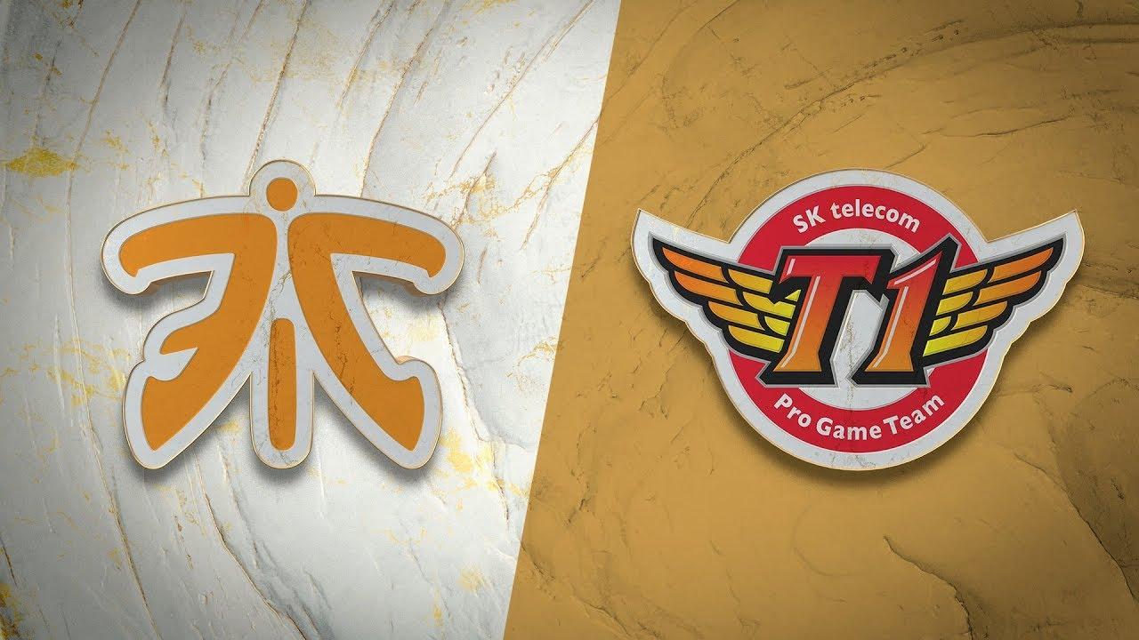 FNC vs SKT | Worlds Group Stage Day 1 | Fnatic vs SK Telecom T1 (2019)