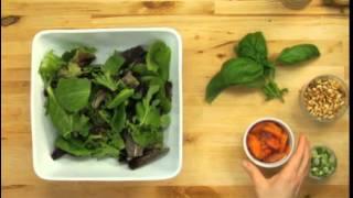 Grilled Chicken Orange Ginger Salad