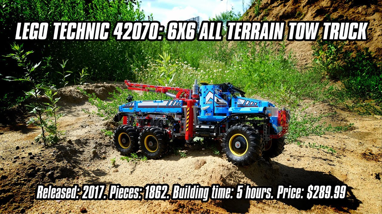 Lego Technic 42070 6x6 All Terrain Tow Truck In Depth Review