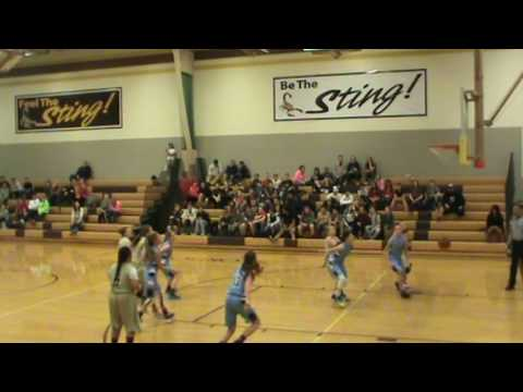 2017 Sand Ridge Junior High Girls Basketball Highlight Video
