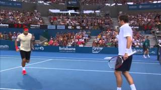 Federer & Mahut v Chardy & Dimitrov - Full Match Men