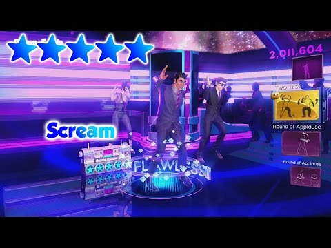 Dance Central 3 - Scream - 5 Gold Stars