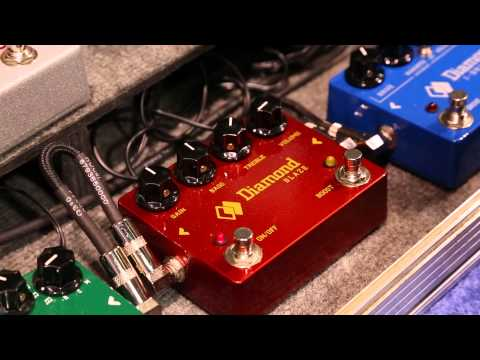 NAMM 2014 New Diamond Pedals