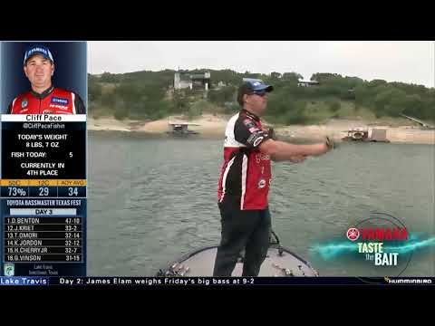 Taste the Bait: How Cliff Pace caught Lake Travis giants