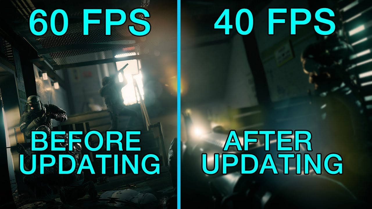 Rainbow Six Siege drop, stutter, Low fps Fix after Blood orchid update