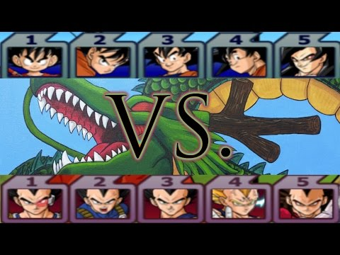 Dragon Ball Z Budokai Tenkaichi 3: Team Goku vs Team Vegeta Duel!