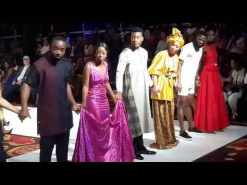CELEBRITIES CATWALK FOR CHARITY AT GLITZ AFRICA FASHION WEEK 2016