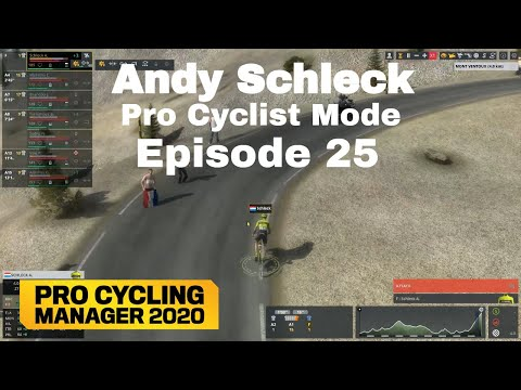 Climbing Dominance - Andy Schleck Pro Cyclist Mode Episode 25 - Pro Cycling Manager 2020  