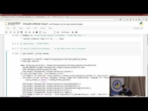Image from Lightning talks: virtualenv