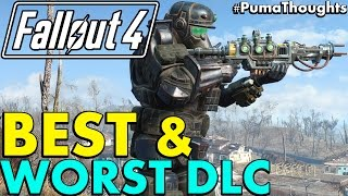 What Is Fallout 4's Best and Worst DLC or Add On Content (Fallout 4 DLC Review) #PumaThoughts