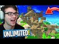 "*NEW* UNLIMITED BUILDING MODE IN FORTNITE! (""Playground"" Fortnite Game Mode!)"