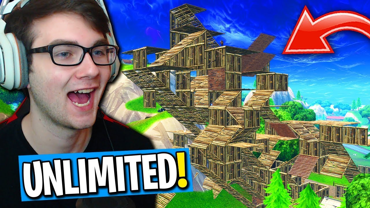 *NEW* UNLIMITED BUILDING MODE IN FORTNITE! (