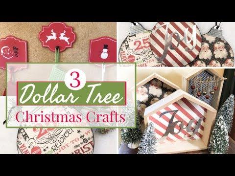 3 EASY DOLLAR TREE CHRISTMAS DIY   DOLLAR TREE CHRISTMAS 2019