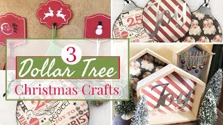 3 EASY DOLLAR TREE CHRISTMAS DIY | DOLLAR TREE CHRISTMAS 2019