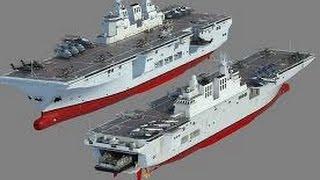 """解放军075攻击舰""""曝光"""" 从模型走向深海"""