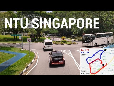 Singapore Drive - NTU Campus