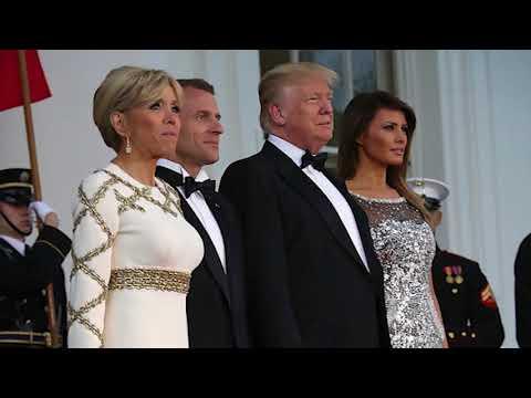 Супруга Макрона откровенно рассказала о нелегкой судьбе первой леди США Меланьи Трамп