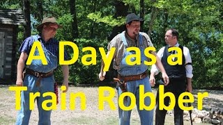 A Day as a Train Robber at Silver Dollar City - Ep 46 Confessions of a Theme Park Worker