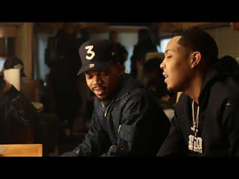 Chance the Rapper & G Herbo Ebro Interview