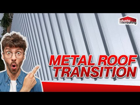 Shingle to Metal Roof Transition - Istueta Roofing