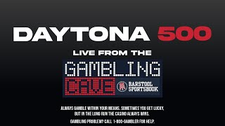 #Daytona500 - Live from the Gambling Cave