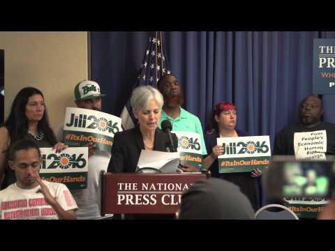 Full Speech: Jill Stein Launches Presidential Campaign
