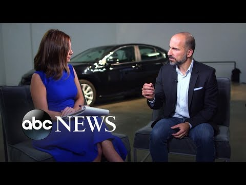 Uber CEO talks safety, company culture, future IPO and flying Ubers