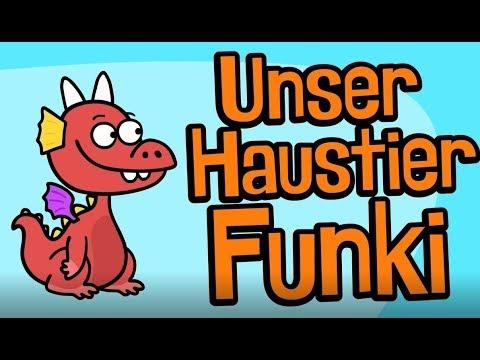 ♪ ♪ Kinderlied Drache - Unser Haustier Funki - Hurra Kinderlieder