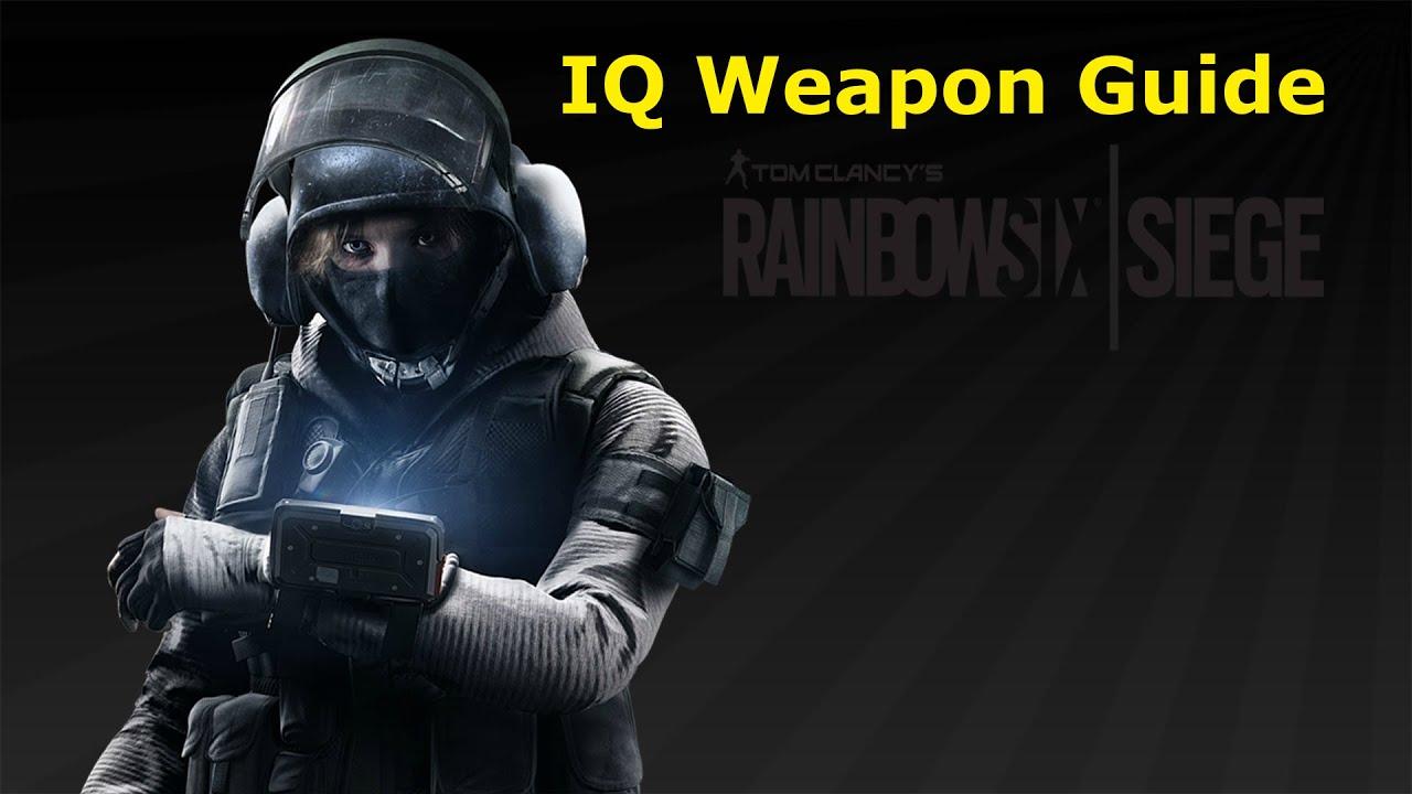 Rainbow Six Siege | Weapon Guide | IQ - YouTube