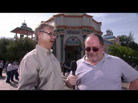 Jim Hill talks  Ariel's Undersea Adventure with Imagineer Frank Antonides
