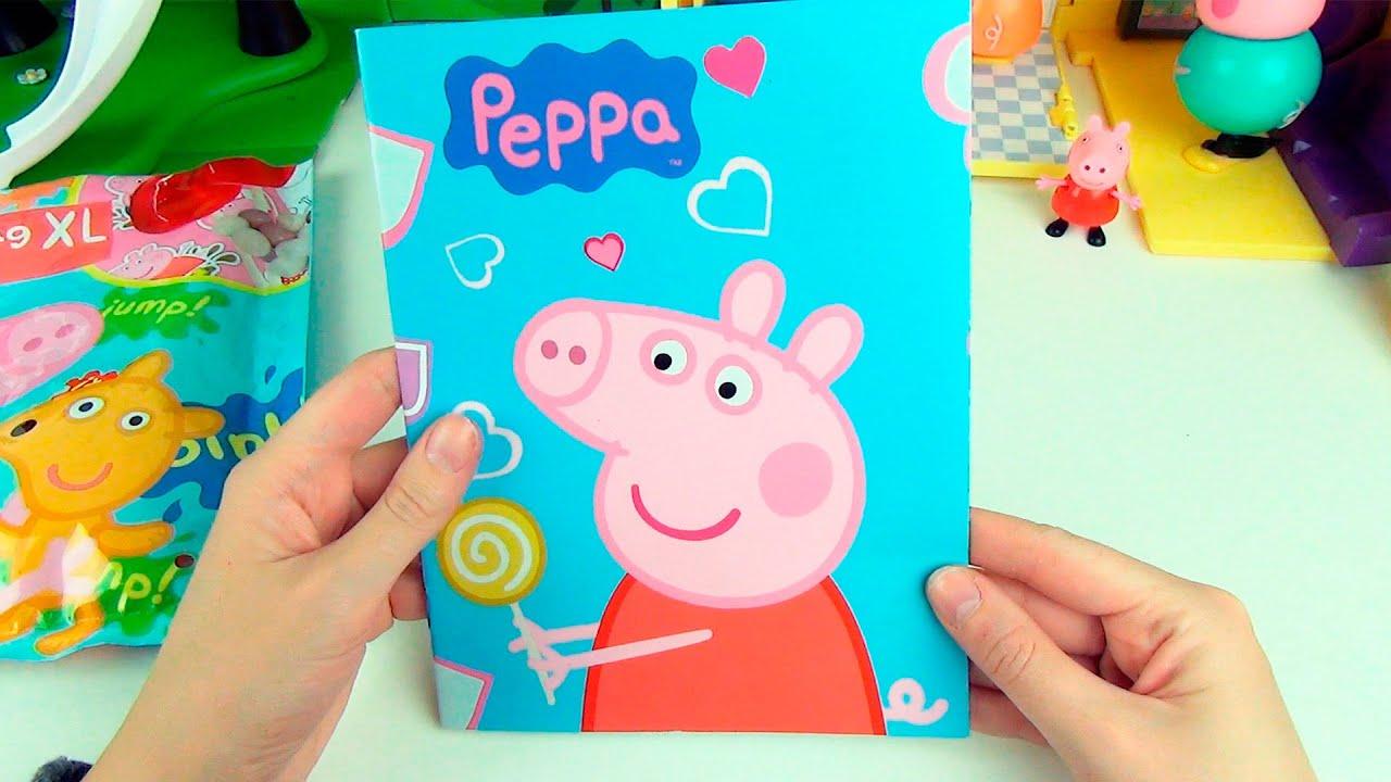 игра раскраска бисером свинка пеппа