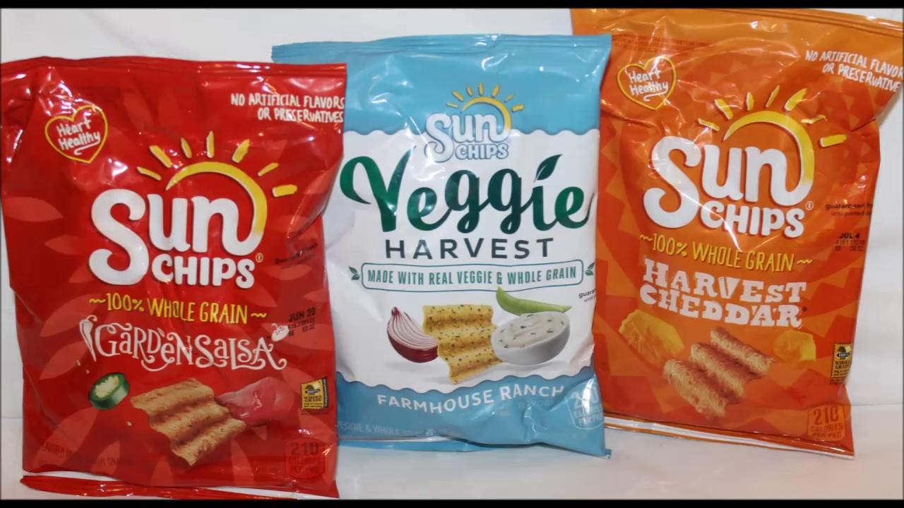 Sun Chips Garden Salsa Veggie Harvest Farmhouse Ranch Harvest