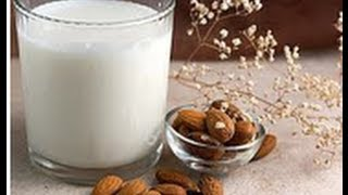 Como preparar leche de almendras. How to make homemade almond milk. EcoDaisy.