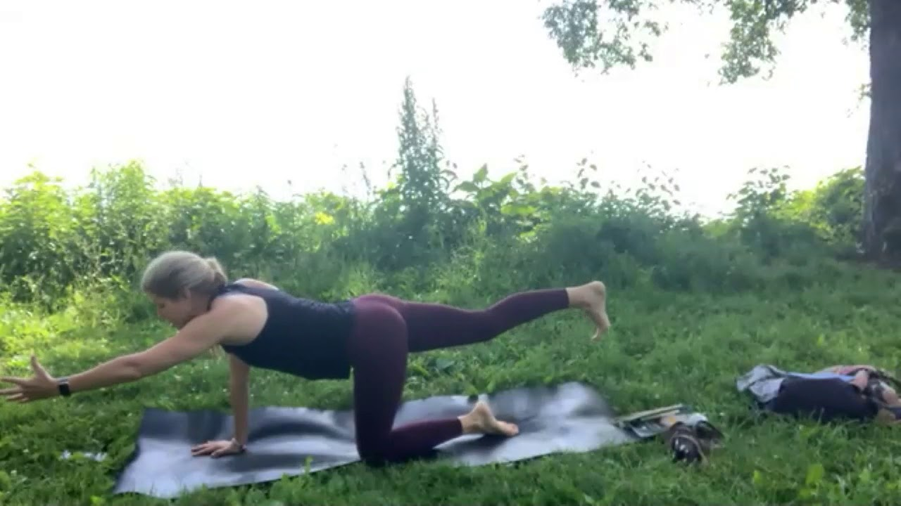 60 Minute Empower Yoga Practice with Kristin - YouTube