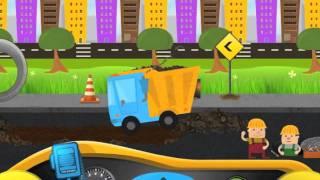 Tiny Diggers: Construction Trucks iPad & Mac App Game