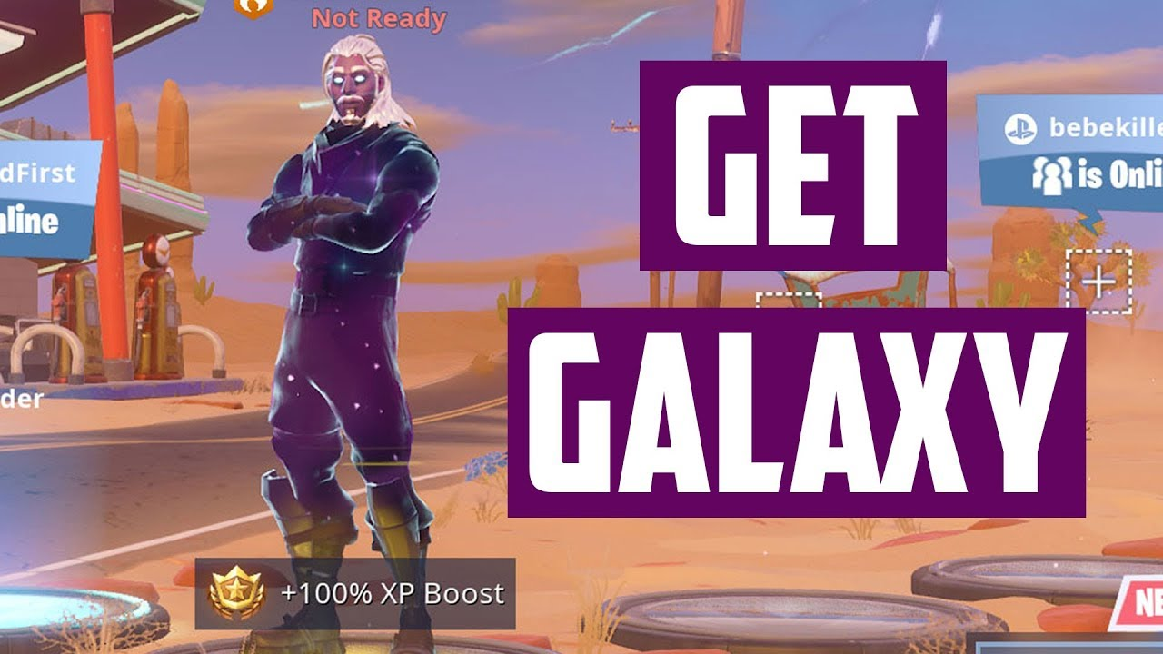 Fortnite Skin Hack PC - it's Galaxy Time! - YouTube