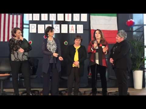 School Twinning Italy-Usa CERIMONIA DI INAUGURAZIONE