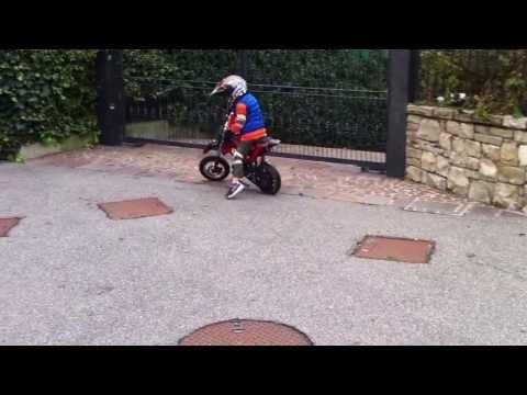 Motocross Bambini Ricky 4 Anni
