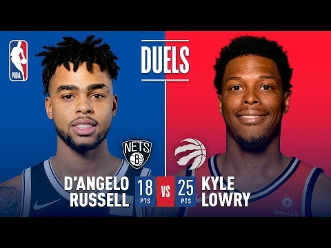 Download Youtube: Kyle Lowry vs D'Angelo Russell: Dueling Triple Doubles