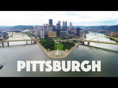 Pittsburgh PA Virtual Run Into Downtown 4k