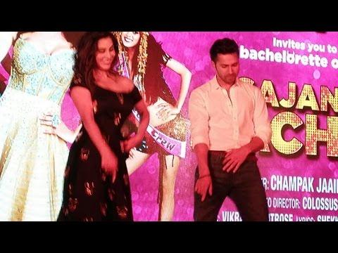 Varun Dhawan DANCES With Sophie Choudry On Sajan...