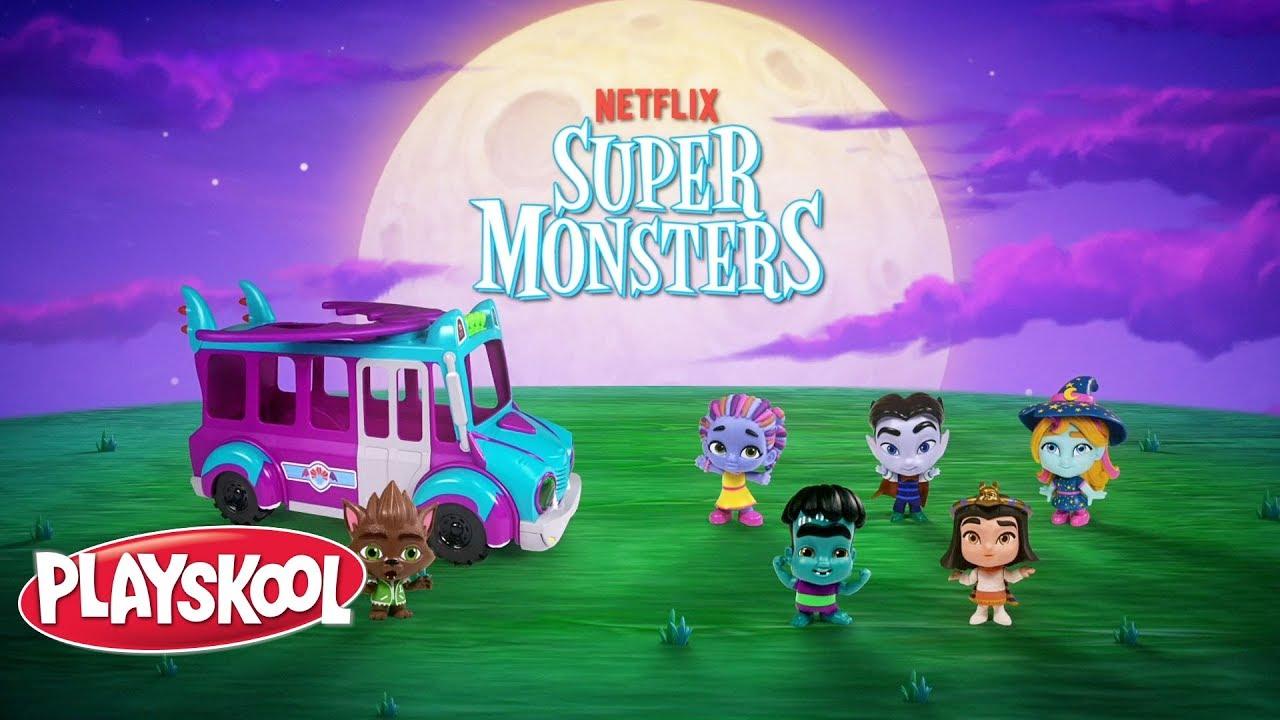 Netflix Super Monsters Grrbus Monster Bus Official Spot Youtube
