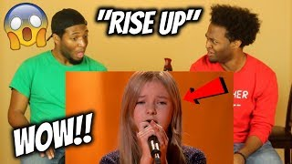 12-Year-Old Daneliya Dazzles with 'Rise Up' - The World's Best Audition (REACTION)