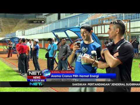 Persiapan Arema Melawan Persipura Dalam Turnamen Jenderal Sudirman Cup - NET12