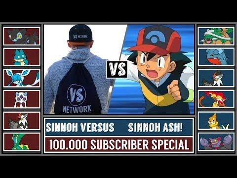 100.000 Subscriber Special! Sinnoh ASH Vs. Sinnoh VERSUS! (Pokémon Sun/Moon)