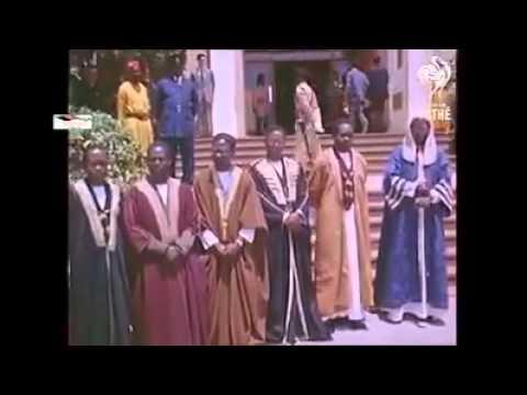 Uganda's first Independence celebrations in 1962