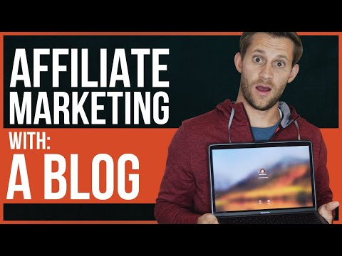 HOW TO DO AFFILIATE MARKETING WITH BLOGS - Step By Step thumbnail