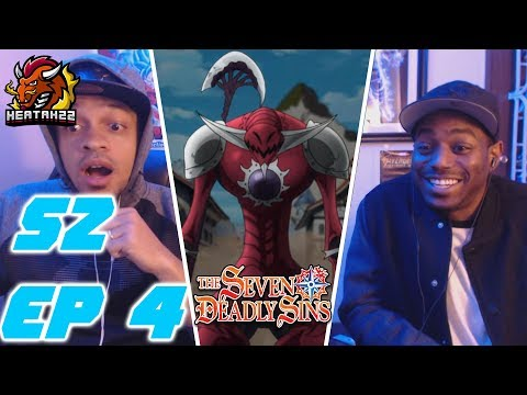 The Seven Deadly Sins Season 2 Episode 4 Reaction! (Nanatsu No Taizai) Galand Wants The Smoke!